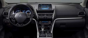 Interior del Eclipse Cross