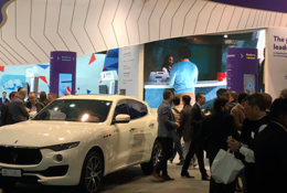 Maserati en el Mobile World Congress 2018
