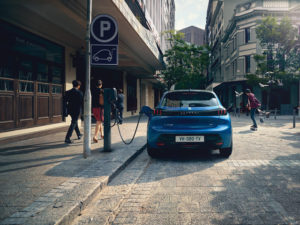 Peugeot 208 recarga eléctrico Castellón
