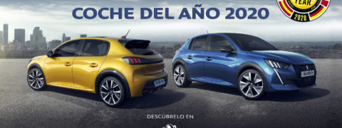 El nuevo PEUGEOT 208 elegido como coche del año 2020
