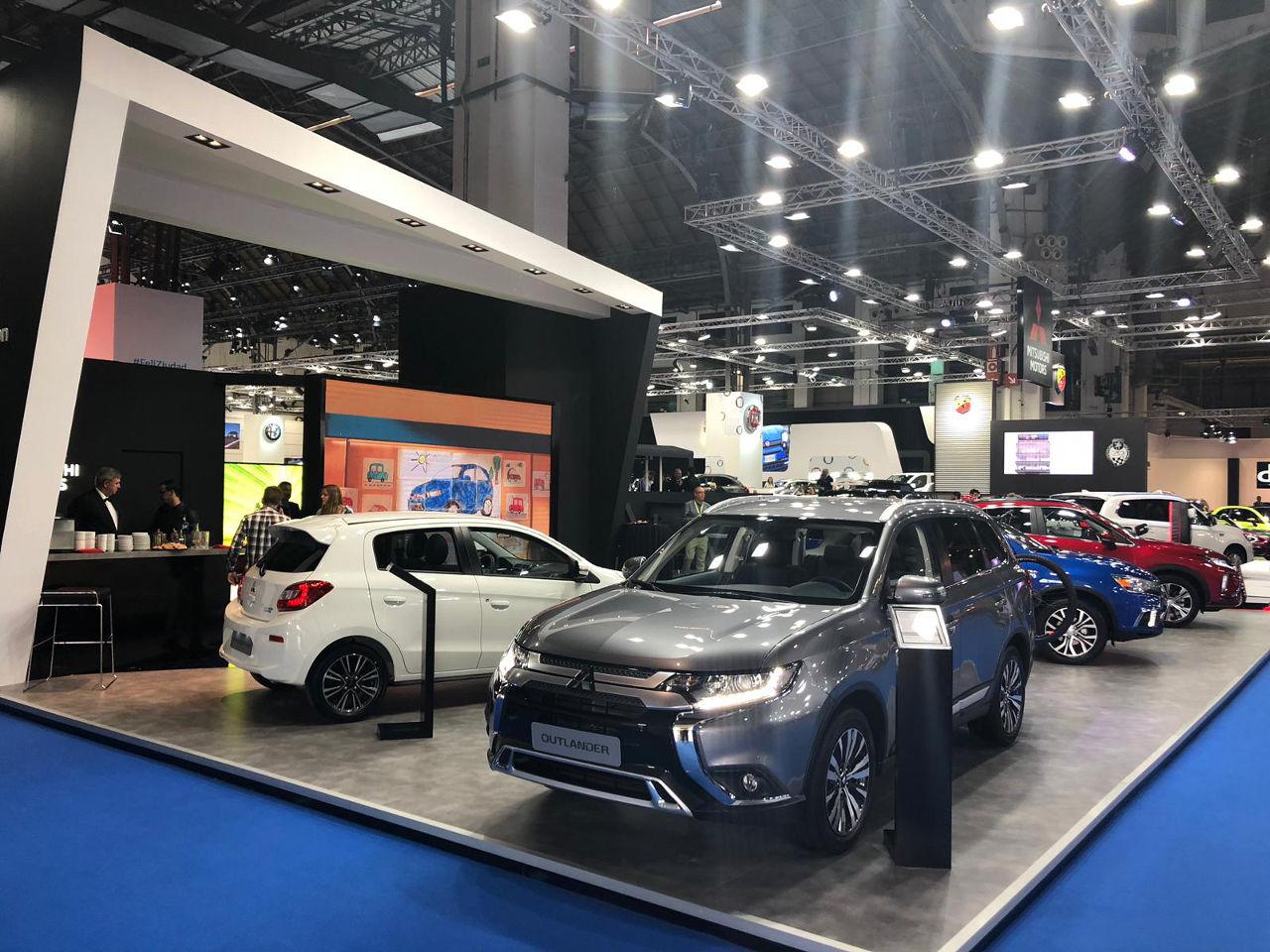 Prueba el Mitsubishi Outlander PHEV en Automobile Barcelona