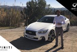 Test Drive del nuevo Infiniti Q50 Híbrido 2019