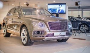 Presentación del nuevo Bentley Bentayga