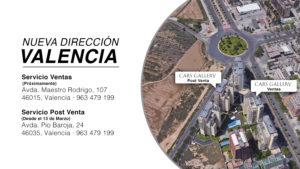 Nueva dirección: Cars Gallery Valencia