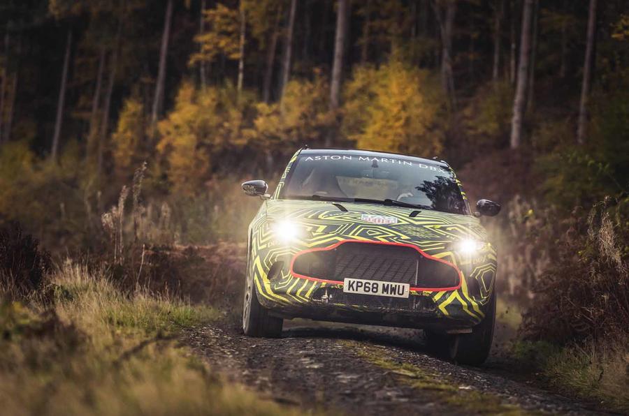 DBX, el primer SUV de Aston Martin