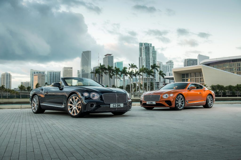 El nuevo Continental GT V8 y Continental GT V8 Convertible