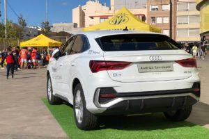El nuevo Audi Q3 Sportback presente en el Estadio de la Cerámica de Villarreal