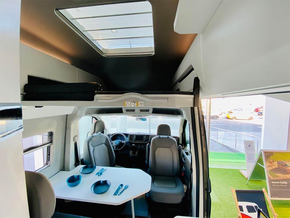 Interior de la nueva Volkswagen Grand California