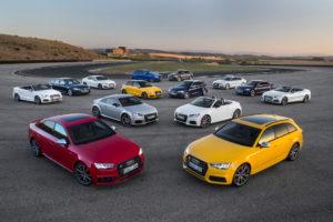 Gama Audi S, deportivos que combinan lujo y confort