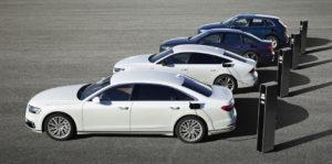 Los 3 nuevos híbridos enchufables con tecnología Audi TFSIe
