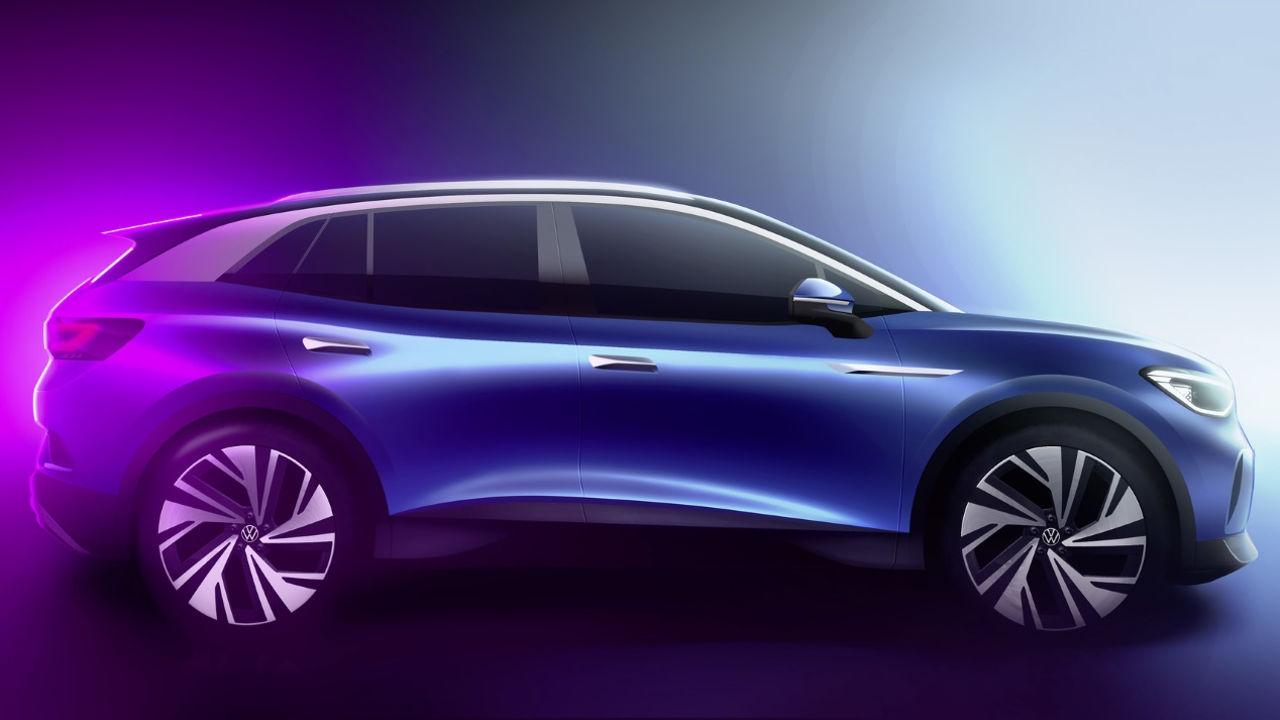 Novedades de Volkswagen en el Salón de Ginebra 2020 - Volkswagen ID.4