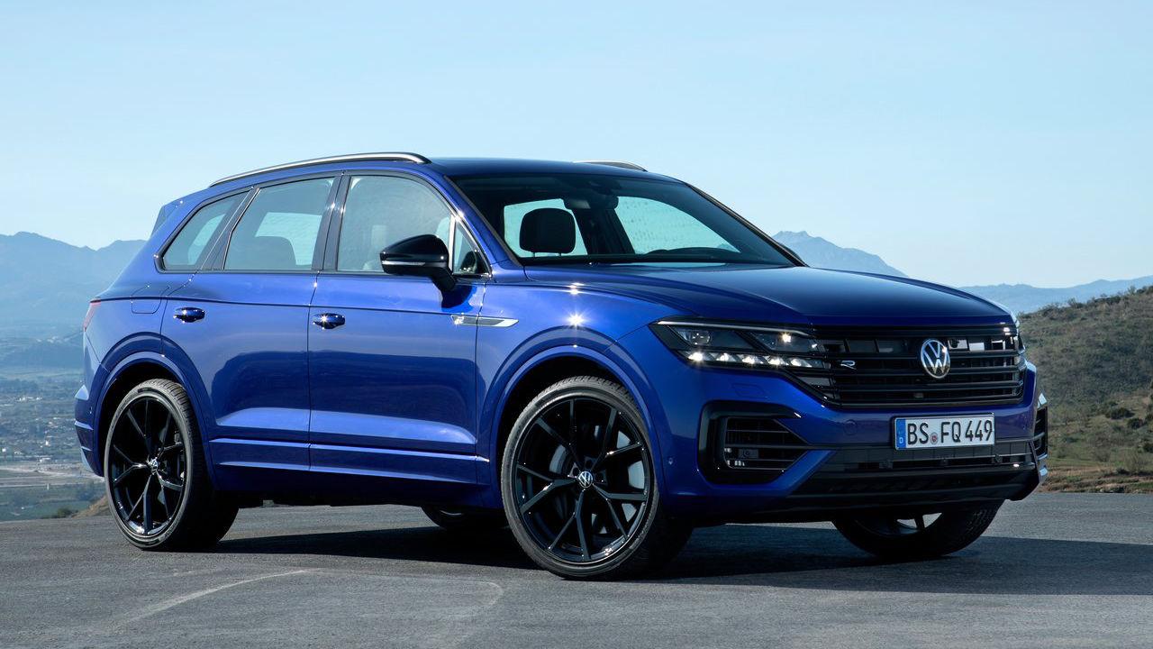 Novedades de Volkswagen en el Salón de Ginebra 2020 - Volkswagen Touareg R