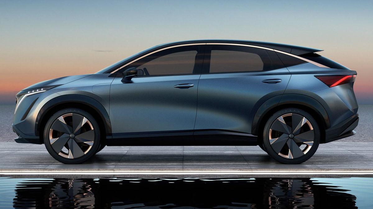 Las novedades y prototipos de Nissan en 2019 - Nissan Ariya Concept