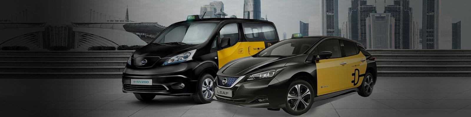 e-taxi de Nissan