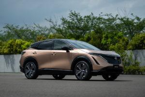 El nuevo Nissan Ariya en acción: tecnología futurista