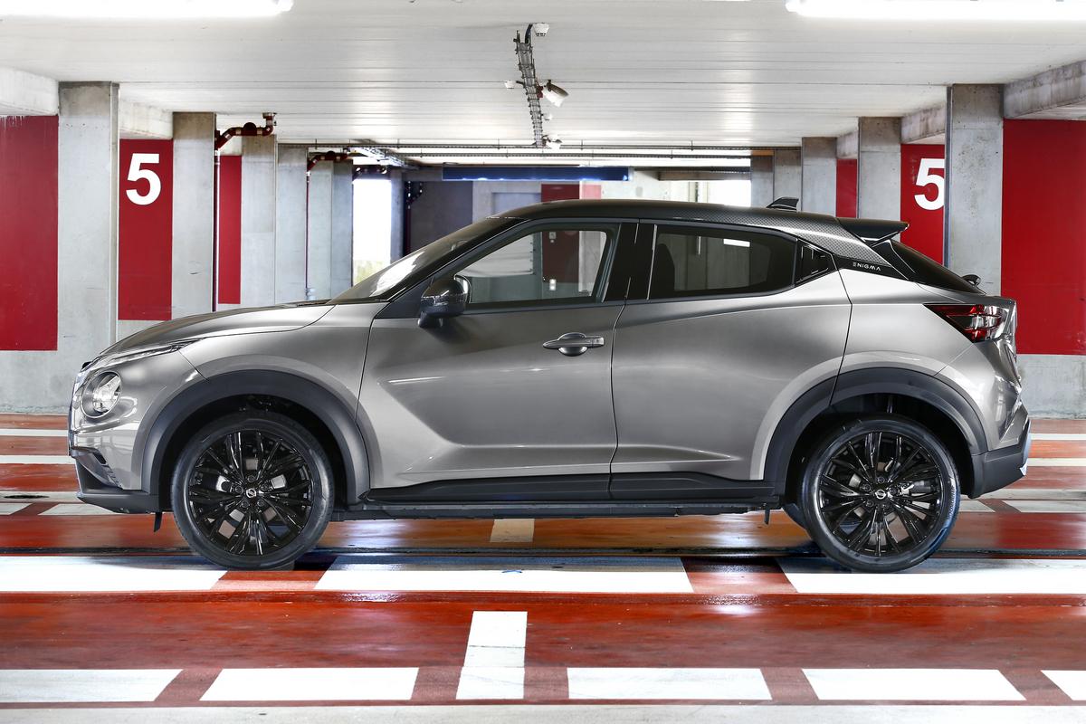 La versión especial Nissan JUKE ENIGMA optimiza su estilo y conectividad