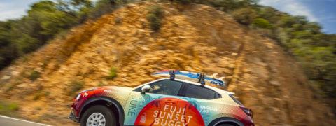 El Nuevo Nissan Juke Fuji Sunset Buggy conquista la playa